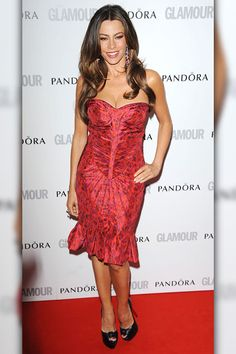 Sofia Vergara    Modern Family vixen and wife-to-be Sofia Vergara rounds out the top 10.