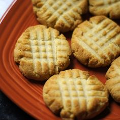 Grain-Free Shortbread Cookies (makes 8 cookies). Ingredients: 1 cup Honeyville blanched almond flour (other brands may affect results), 3 Tablespoons butter, softened, 1 1/2 Tablespoons honey, pinch of sea salt, *optional:1/4 tsp. vanilla or almond extract. Preheat your oven to 350F. Mix all the ingredients in a small bowl until a batter forms, then use a tablespoon to scoop dough onto an un-greased cookie sheet.