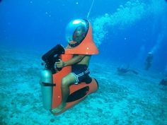 Underwater scooter shore excursions cozumel