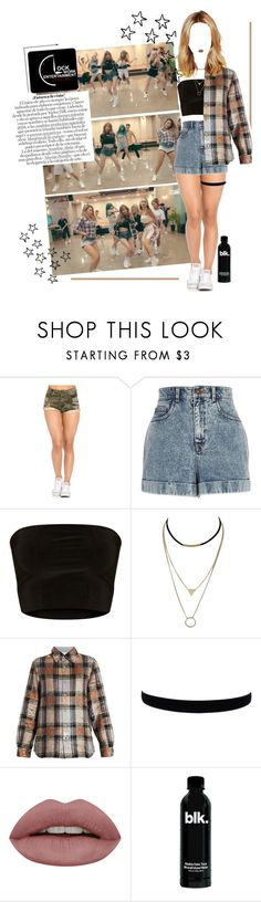 """""""«NOH MIN JI - """"A O.K."""" DANCE PRACTICE»"""" by cw-entertainment ❤ liked on Polyvore featuring River Island and Ashish"""
