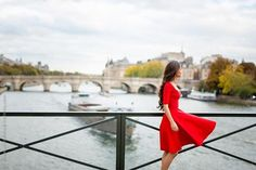 The girl in Red. À vos avis / Give your feedback ! Body Language, Just Go, Photo S, France, Paris, Portrait, Model, Red, Instagram