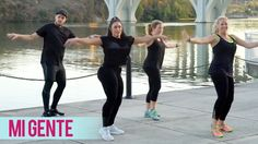 J Balvin, Willy William – Mi Gente ft. Beyonce (Dance Fitness with Jessica) Video Description This dance fitness routine to J Balvin and Willy Williams' « Mi Gente ft. Zumba Workout Videos, One Song Workouts, Zumba Videos, Cheer Workouts, Workout Songs, Killer Workouts, Dance Videos, Cardio Workouts, Dance Workouts
