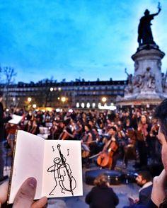 Le #NouveauMonde joue sa symphonie # #NuitDebout #WeAreOne
