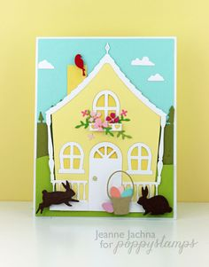 A Kept Life: Cute Easter Cottage