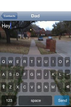 Cool app...Text N Walk: See As You Type never bump into someone again while youre walking and texting!