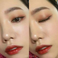 Pin By Miya Wu On Muse Beauty Makeup Makeup Ulzzang Makeup What is Makeup ? What's Makeup ? Asian Makeup Looks, Korean Makeup Look, Asian Eye Makeup, Cute Makeup, Glam Makeup, Makeup Inspo, Makeup Inspiration, Makeup Ideas, Makeup Tutorials