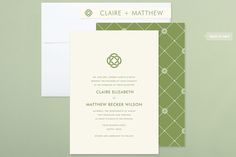 Celtic Eternity Wedding Invitations