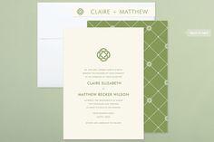 Celtic Eternity Wedding Invitations