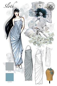Technical Design by Xenia K.- Fashion/Graphic Designer at Coroflot.com