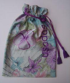 Saco para lingerie - Jeito Mineiro Bordados  jeitomineirodeser.blogspot.com