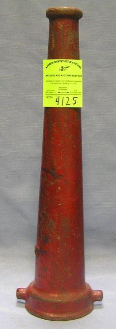 Reserved for kraig nicolls vintage brass fire hose