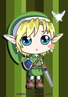 The Legend Of Zelda Chibi | chibis - chibi Photo