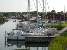 Exploring Kökar, Åland, Karlby #harbour #boating #sailing