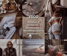 I bring you two truly wonderful filters. The VSCO filter is my Lightroom, Fotografia Vsco, Feed Insta, Best Vsco Filters, Vsco Themes, Photo Editing Vsco, Photography Editing, Image Editing, Vsco Presets