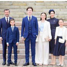 Denmark Royal Family, Danish Royal Family, Crown Princess Mary, Prince And Princess, Prince Christian Of Denmark, Royal Families Of Europe, Prince Frederick, Queen Margrethe Ii, Danish Royalty