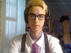 "night vale cecil cosplay - Google Search>> ""welcome... to nightvale"" - (( The crooked smile makes it oh my Goood <3 - Featherhowl ))"