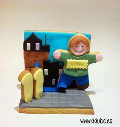 Conjunto. / Set  #diorama #maqueta #model #modelcookie #ddulcedulcesdetalles