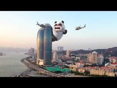 【Bamboo Panda ❤】Have a nice dream ❤❤   Chinese Short Animation   Happiness and Laugh   熊猫班卜 - YouTube Nice Dream, Panda, New York Skyline, Bamboo, Happiness, Chinese, Animation, Happy, Youtube