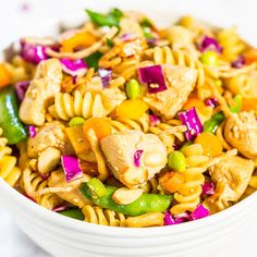 Chinese Chicken Pasta Salad Recipe on Yummly