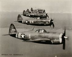The P-47 Thunderbolt, the fighter that had a lot of stories from people who took all kinds of direct hits and this plane still kept going.