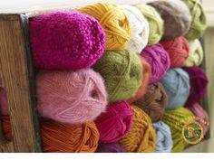 Colorful Yarn - Bright Colors Wallpaper (18193832) - Fanpop