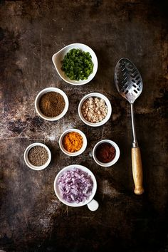 ♂ Food photography still life styling Spices