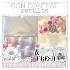 """➸ ICON CONTEST RESULTS"" by lace-and-lavender ❤ liked on Polyvore featuring art and tipsbymaddiexo"