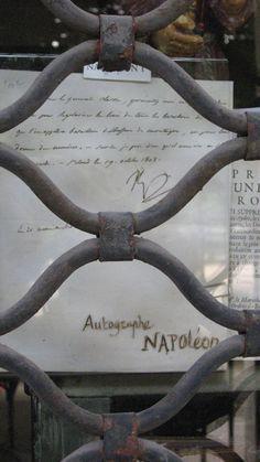 Napoléon signature