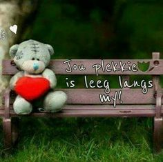 Mis jou Husband Quotes, Love Quotes For Him, Baby Boy Knitting Patterns, Afrikaanse Quotes, Death Quotes, Tatty Teddy, Pick Up Lines, Love Pictures, Marriage