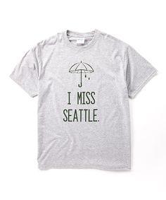 @missysue32  Little Treetops Heather Gray 'I Miss Seattle' Tee -