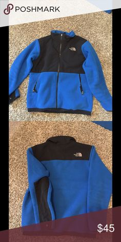 North Face Denali boys L Good condition boys North Face  Could fit a XS-S ladies  Size L 14-16 boys North Face Jackets & Coats