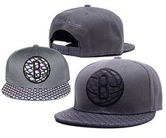Brooklyn Nets Adjustable Clean Up Team Logo Grey Adjustable Hat NBA *** You can find more details by visiting the image link.