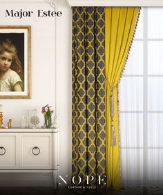Göz kamaştıran tasarım, ilgi çeken renkler... Desen 1 : Major Desen 2 : Estee 🌸 Brilliant design, exciting colors ... Design 1 : Major Design 2 : Estee #Nope #Curtain #EvTekstili #Tulle #Textile #HomeTextile #Perde #Tül #Fabrics #Textiles #Colors