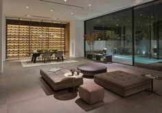 """1442 Tanager Way"" residence with interior design by Mary Ta of Minotti Los Angeles. – GeorgiaPapadon"