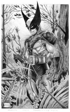 Wolverine comic drawings | Wolverine Fanart by AthenaTT