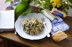 Hacer un delicioso Risotto vegano de setas es posible. No necesitaremos queso de vaca ni mantequilla para prepararlo. ¡Y está increíblemente cremoso!
