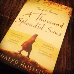 Book Review: A Thousand Splendid Suns Please follow my blog and share your thoughts in the comment section!