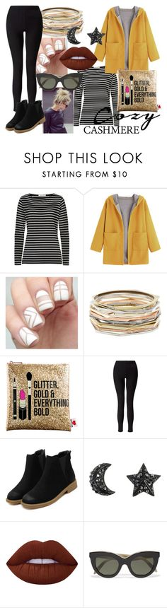 """""""Holiday Style: Cozy Chic ~ Contest Entry"""" by rubstar ❤ liked on Polyvore featuring Betty Barclay, Kendra Scott, Sephora Collection, Miss Selfridge, Lime Crime, Victoria Beckham and cozychic"""