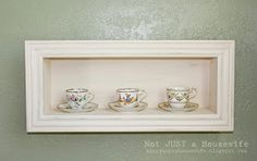 Tools Are For Women Too!: How To Make Shadow Box Shelf Tutorial  - by Stacy ...