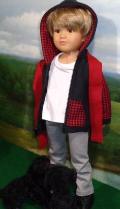 American Boy Doll outfit. I need to make some for boys.