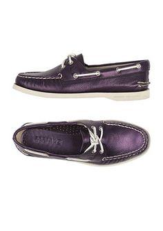Purple Sperry <3