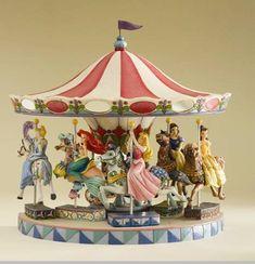 Jim Shore / Disney Traditions Princess Carousel Displayer Base Molly would love this. Hades Disney, Walt Disney, Deco Disney, Disney Home, Disney Magic, Disney Art, Disney Movies, Disney Pixar, Funny Disney