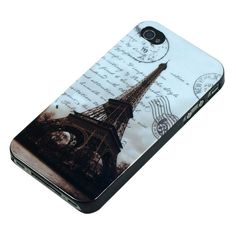 Classic Paris Relief Eiffel Tower Hard Case Cover iPhone 4 4S US Free Shipping | eBay