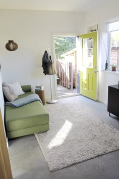 brilliant - owners converted their garage to a small apartment and rent out the main house to tenants.  With the money they are saving they can travel half the year but still have a home to return to and have 'caretakers' at the property while they are away