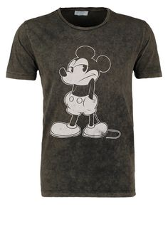 Selected Homme - MICKEY - T-Shirt print - black