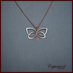Butterfly pendant wrapped in copper wire, Celtic handmade hair . - Butterfly pendant wrapped in copper wire, Celtic handmade necklace, Celtic jewelry with wire wrappi - Celtic Necklace, Diamond Cross Necklaces, Wire Necklace, Wire Wrapped Necklace, Gold Earrings, Gold Choker, Pendant Necklace, Wire Jewelry Designs, Jewelry Crafts