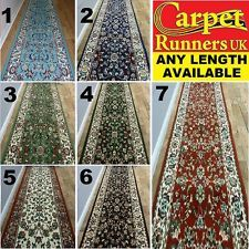 HALLWAY CARPET RUNNERS RUGS FOR HALL RUG RUNNER CARPETS EXTRA LONG - PERSIAN in Home & Garden, Rugs, Mats, Runners | eBay