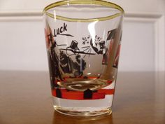 Vintage Shot Glass by 4TheLoveOfVintage on Etsy