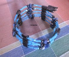 A beautiful magnetic bracelet with hematites, sodalites and blue crystallic beads to help you follow your truth, find stability and express your feelings and thoughts out loudly. Stability, Jewels, Thoughts, Feelings, Beads, Bracelets, Blue, Beautiful, Beading