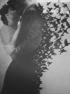 "ε & ℓ | Do you truly feel that she is worth your wings?"" He smiled. ""What good are my wings, friend, when I can hold the world in my arms?"" ~Elizabeth Morgan, The Collector"